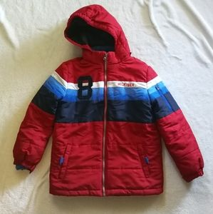 Tommy Hilfiger Winter Jacket with Zip Up Sweater